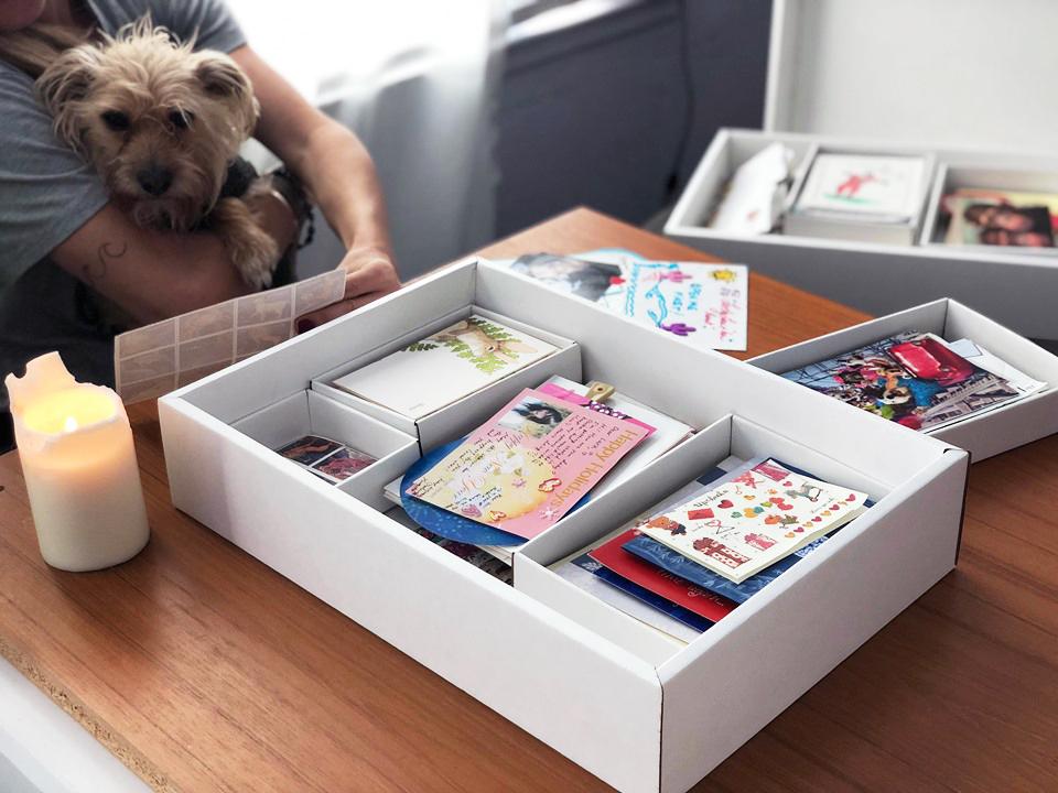 card box organizers