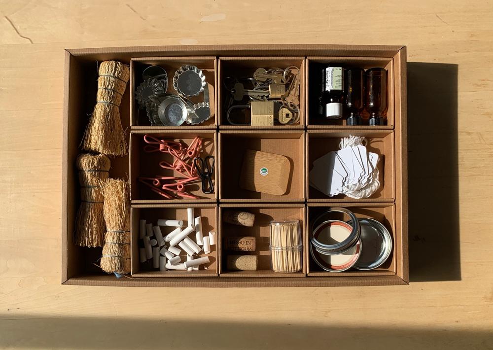 kitchen junk drawer organizer